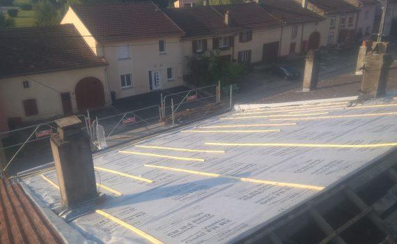 Réfection d'une toiture complète