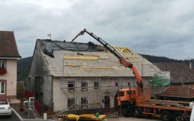Entretien de toiture à Arches